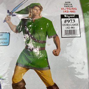 Zelda Men's Link Classic Adult Halloween Costume